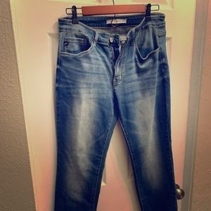 NWOT Kancan stretch skinny jeans 13/30